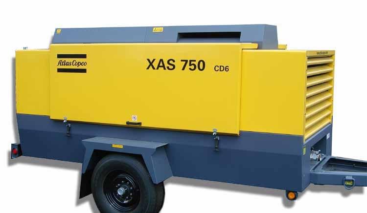 atlas copco xas 750 paco equipment rh pacoequip com Atlas Copco 185 CFM Specs Atlas Copco Xas 750 Compressor