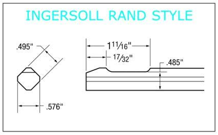 Ingersoll Rand Style Shank