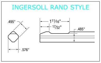 Ingersoll Rand Style Shank