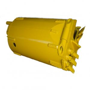 Single-Bottom Double Cut Soil Bucket